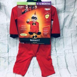 Disney Incredibles 2 JACK-JACK Costume 6-12M